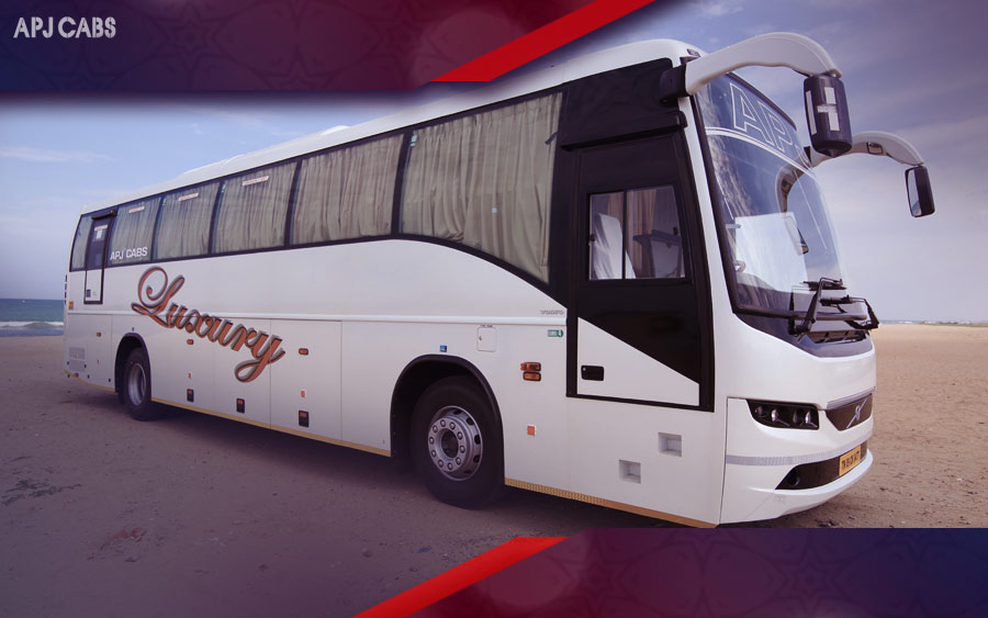 volvo bus rental in chennai